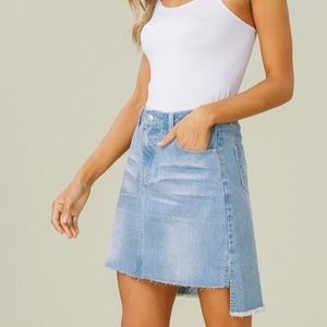 Listicle Jean skirt size Med (brand new)